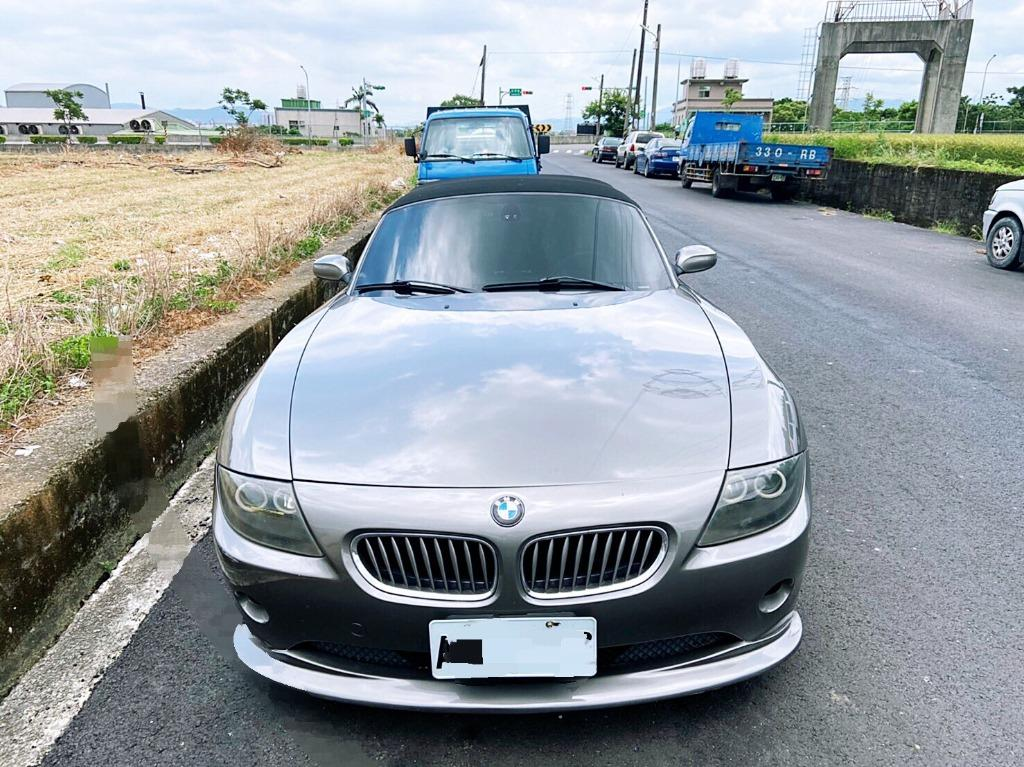 【𝕁𝕫ℙ𝕒𝕣𝕜】2004 BMW Z4 帥帥的敞篷跑車 市場超缺 跑少好車一台 喜歡再來談價錢