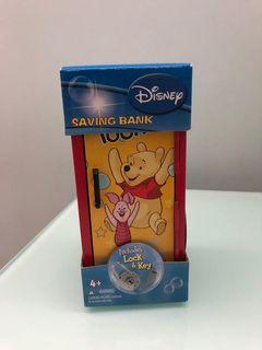 Disney Winnie the Pooh saving bank 小熊維尼儲錢箱