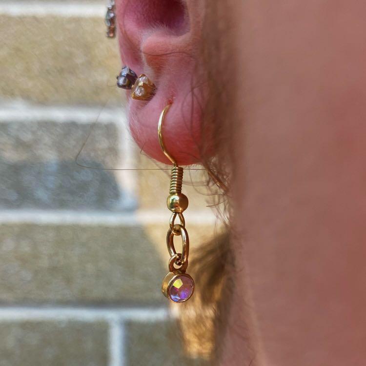 Ethereal Wonder Earrings (Gold)