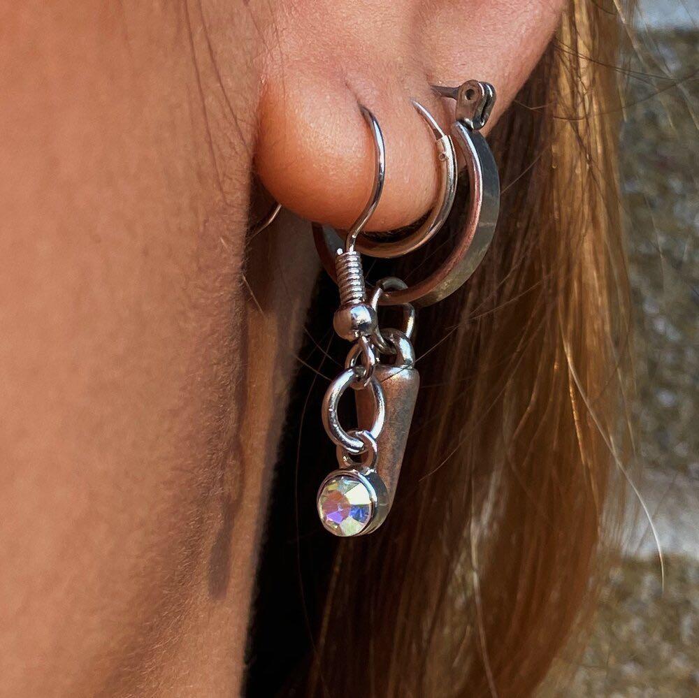 Ethereal Wonder Earrings (Silver)