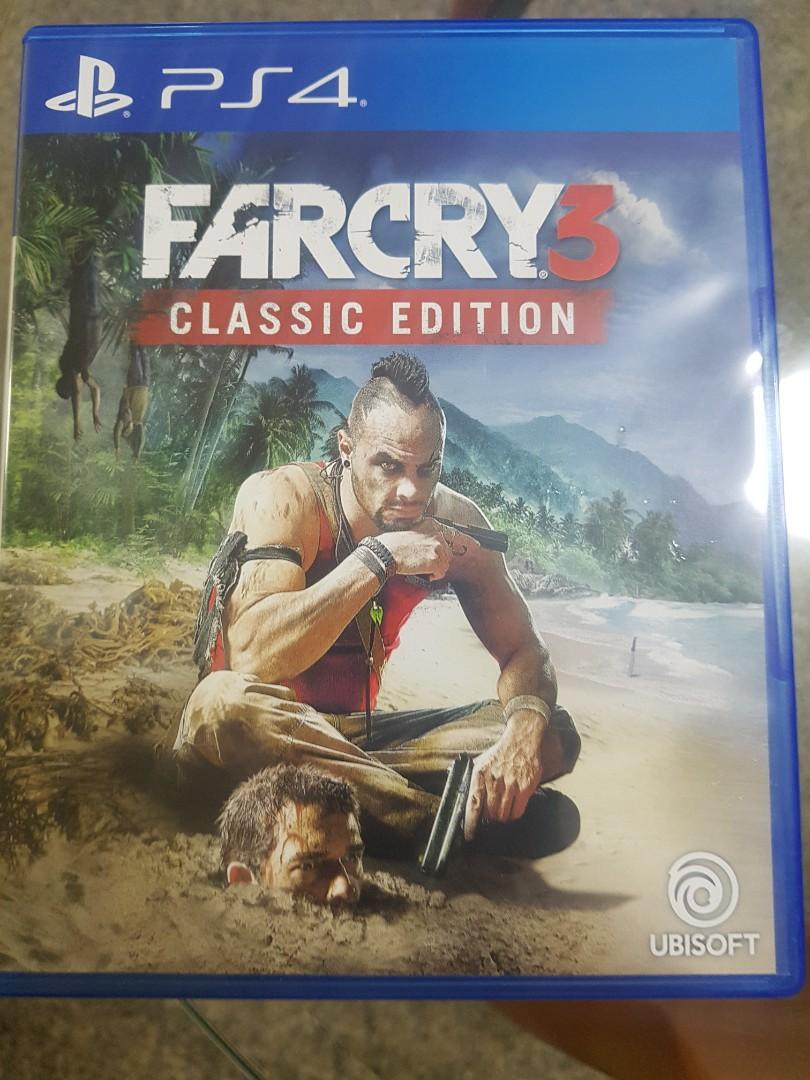 Far Cry 3 Classic Edition Ps4 Toys Games Video Gaming Video Games On Carousell