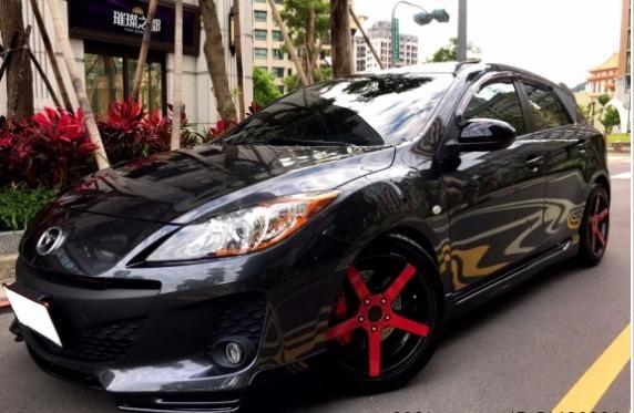 FB搜尋【世康中古車買賣】《熱門車款》2012年馬自達2.0馬三5門頂級 黑