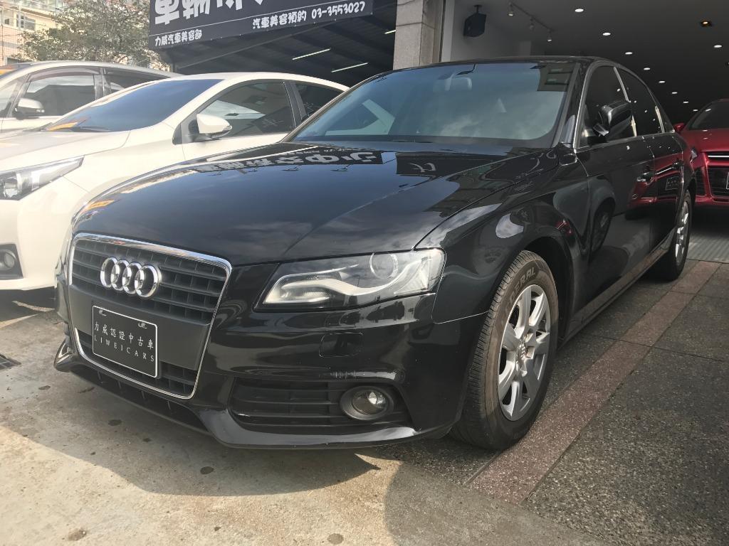 Fb搜尋🔍阿哲中古車買賣 粉絲專頁🚘2010年 AUDI奧迪  A4 黑1.8T