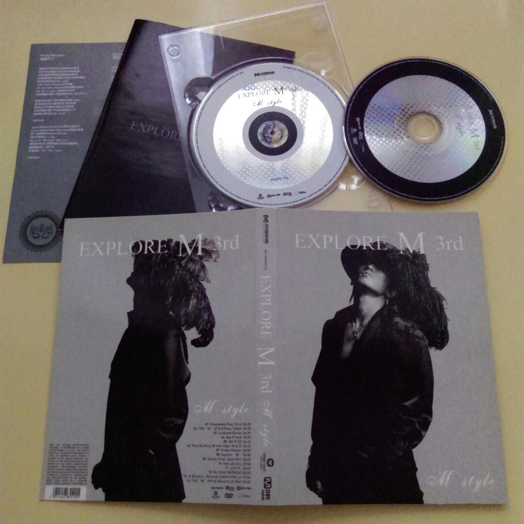 二手Lee Min Woo李珉宇 EXPLORE M 3rd CD+DVD 共2片裝