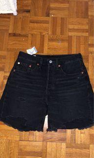 Levi 501 Denim Bike Shorts
