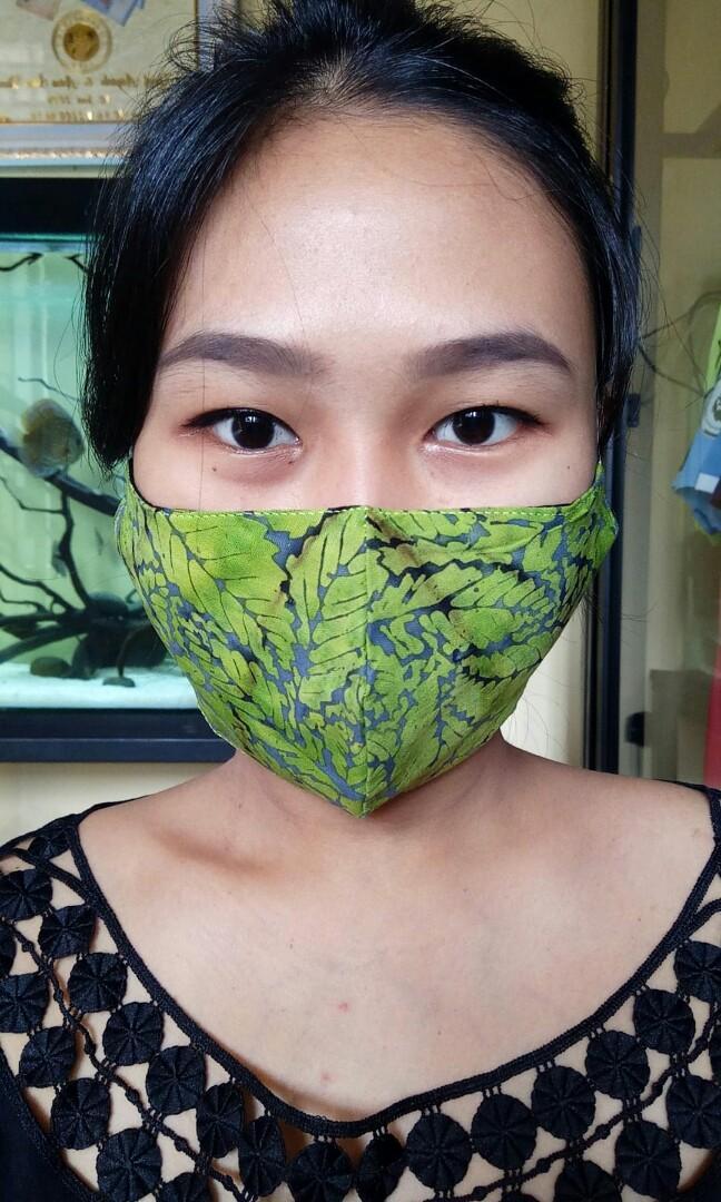 Masker Batik Kain 3 Lapis