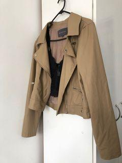 Mirrou Leather Jacket