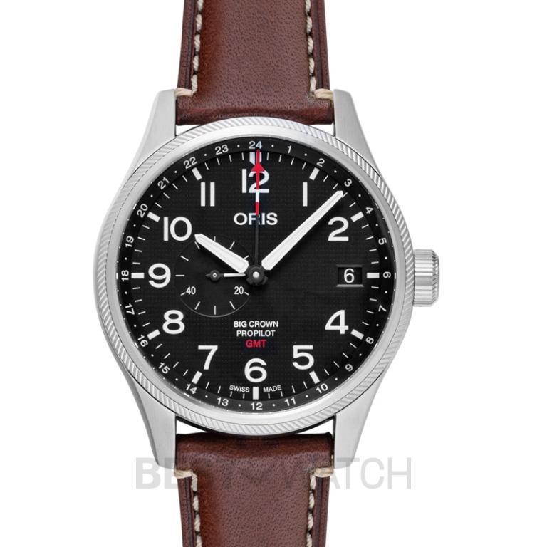 [NEW] Oris Big Crown ProPilot 56th Reno Air Races Limited Edition Automatic Black Dial Men's Watch 01 748 7710 4184-Set