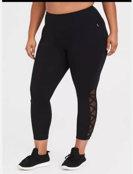 New Plus Size Black Fit Pants Uk Size 28 30 Sports Athletic Sports Clothing On Carousell