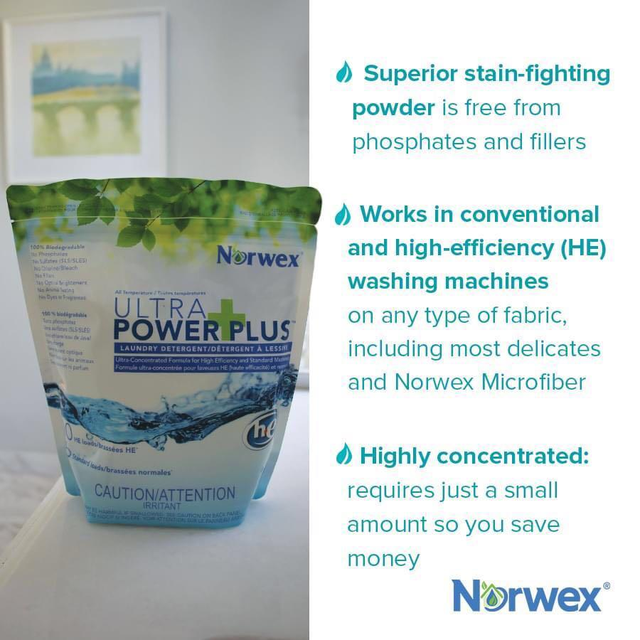 Norwex Ultra Power Plus Laundry Detergent 500g Home Appliances Cleaning Laundry On Carousell