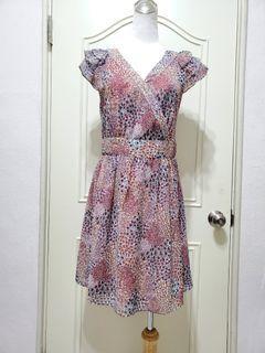 SOGO專櫃超美 碎花洋裝  夏日輕柔布料 #碎花