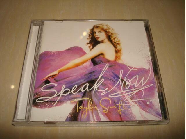 Taylor swift speak now.