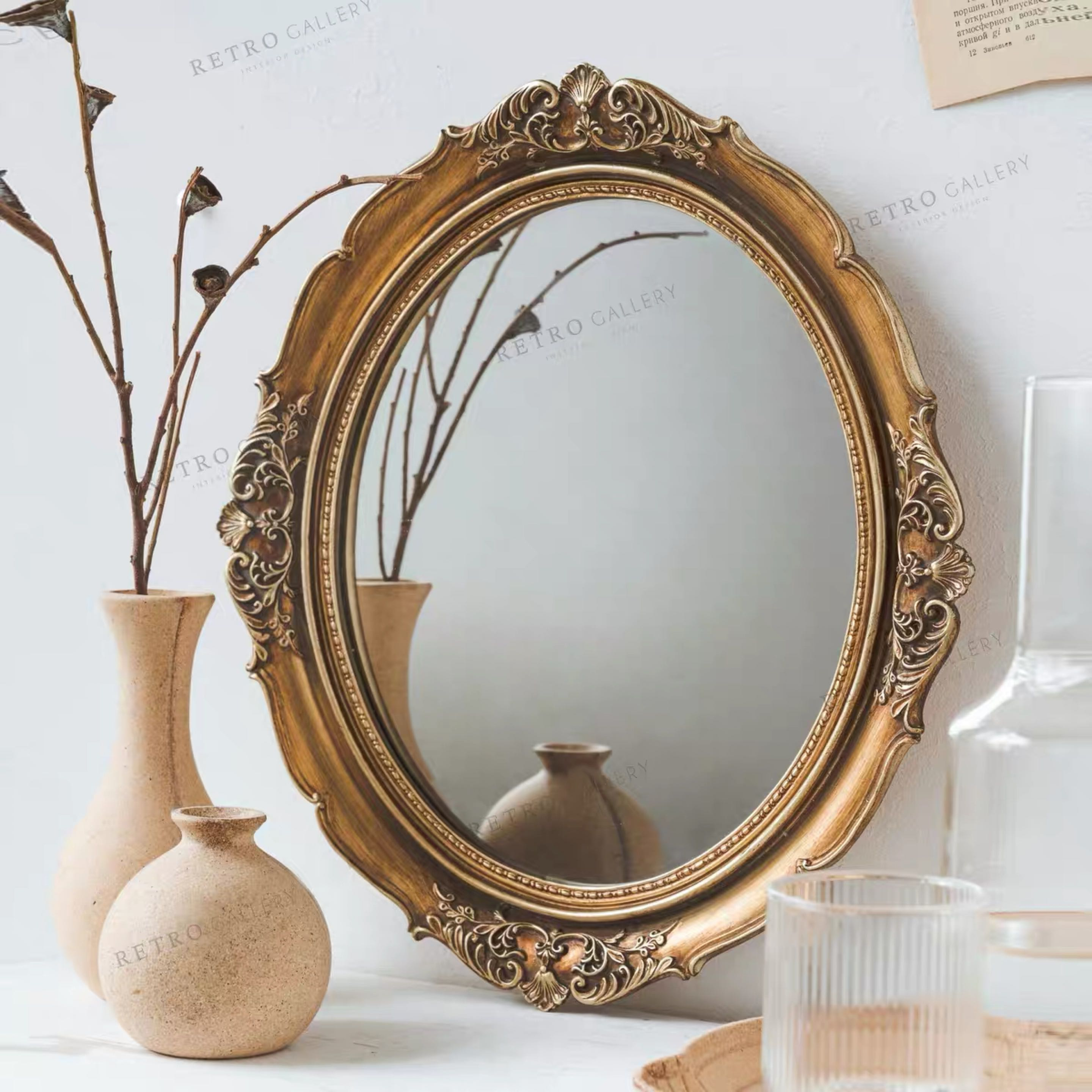Vintage Mirror Furniture Home Decor Others On Carousell