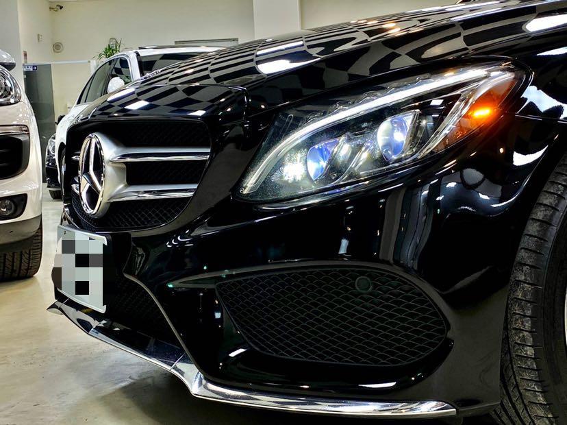 未領牌 2015年式 BENZ W205 C400 AMG