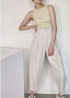 (全新有吊牌)[ Fashion for Yes/ A.Line ]顯瘦必買設計款完美版型老爺褲(正韓)