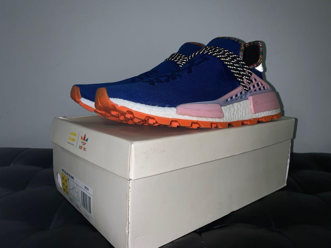 Deshonestidad Ganar Floración  Adidas human race inspiration pack (blue), Men's Fashion, Footwear,  Sneakers on Carousell