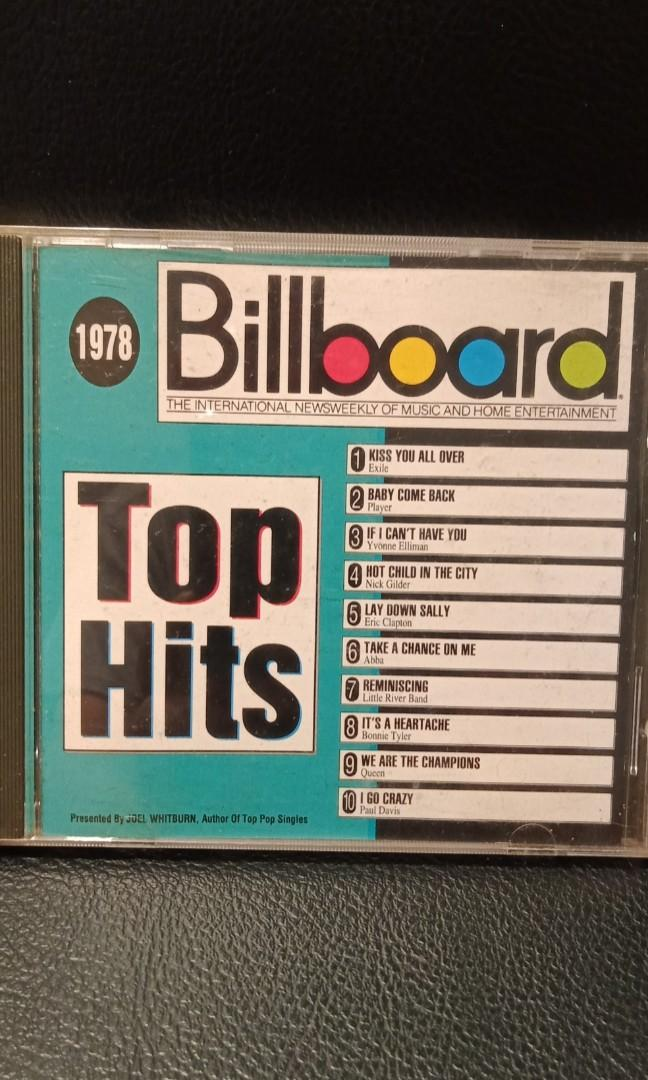 Billboard top hits 1978
