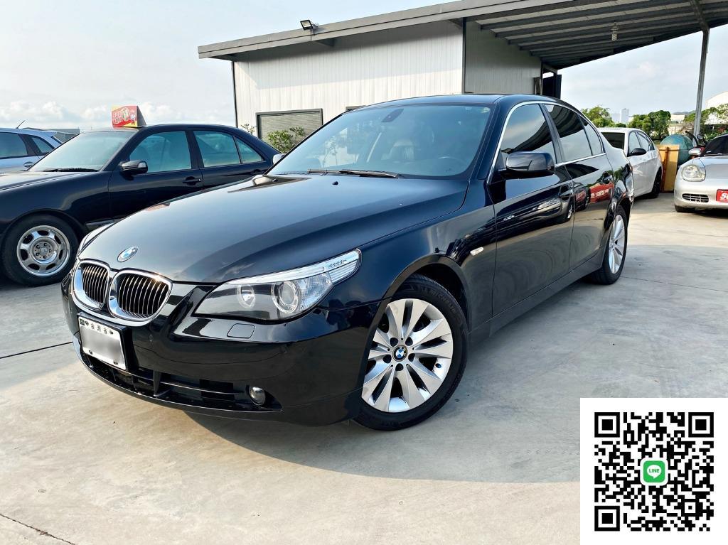 BMW 530i E60 3.0 總代理 資料超齊全  '使用振興券最高折1萬2' 自售 CLS350 C300 IS250 535i 740Li A4 A8 GS250 Camry 323 ES350