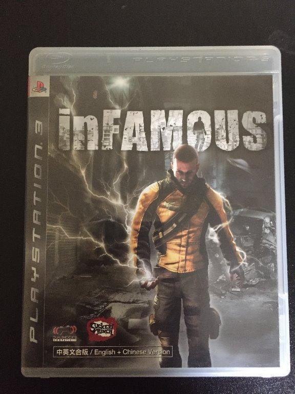 CD PS3: Infamous