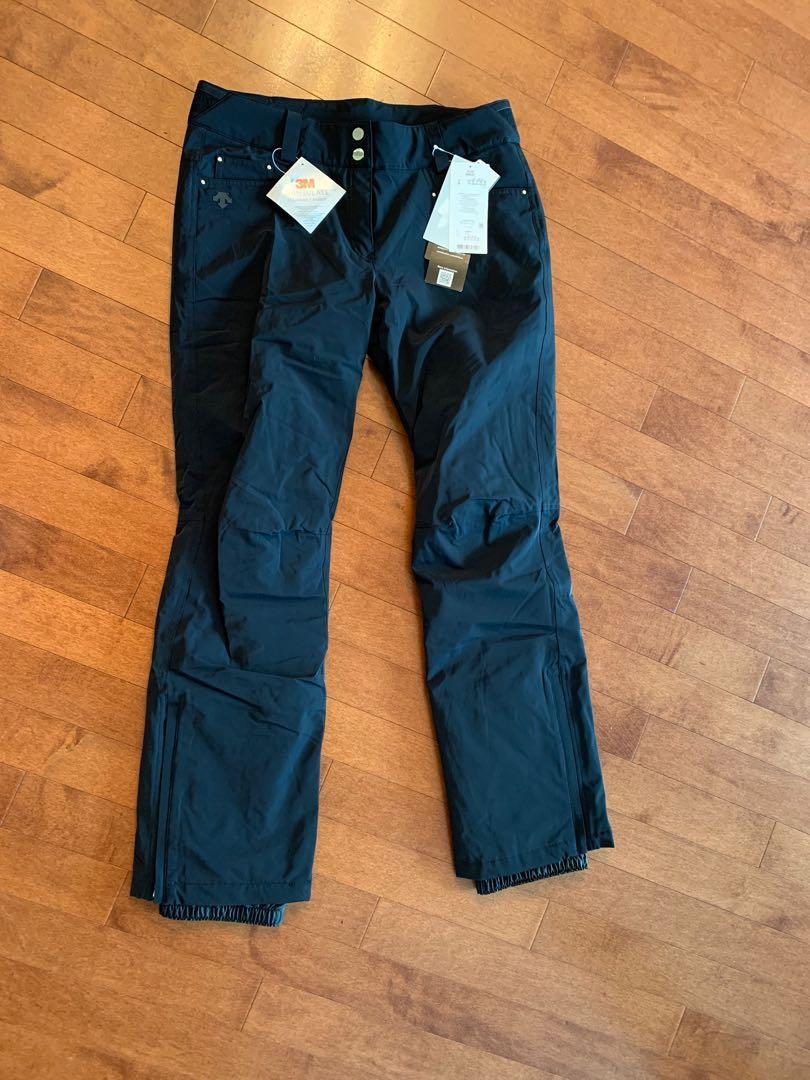 Descente Selene black ski pants Brand new