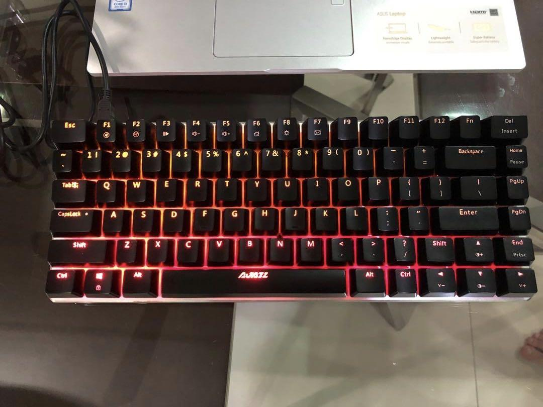 Gaming Keyboard Electronics Computer Parts Accessories On Carousell