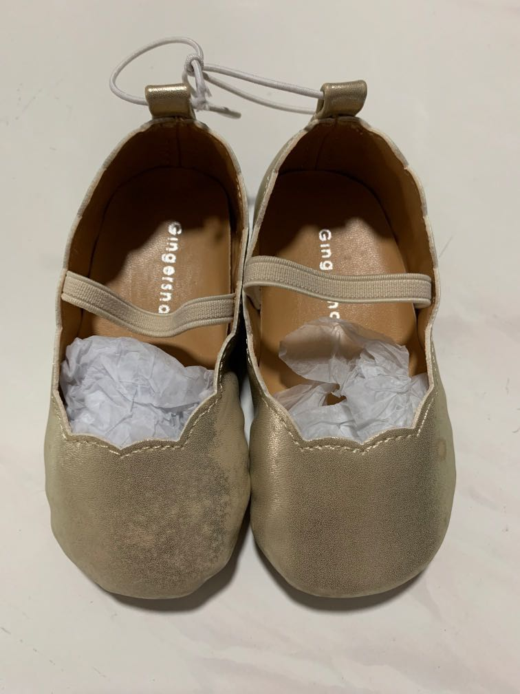 Gingersnaps Infant Girl Shoes (us size