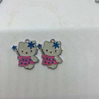 Hello kitty pendants.