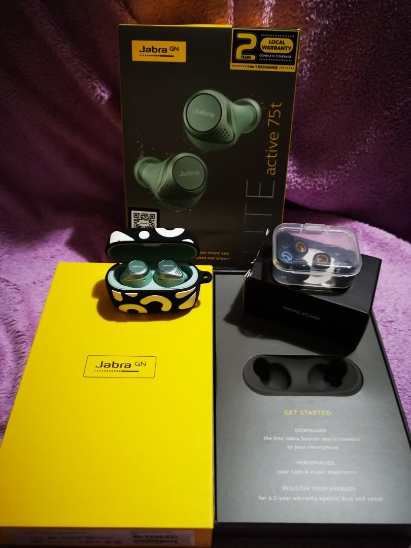 Jabra Elite Active 75t Mint Green Electronics Audio On Carousell