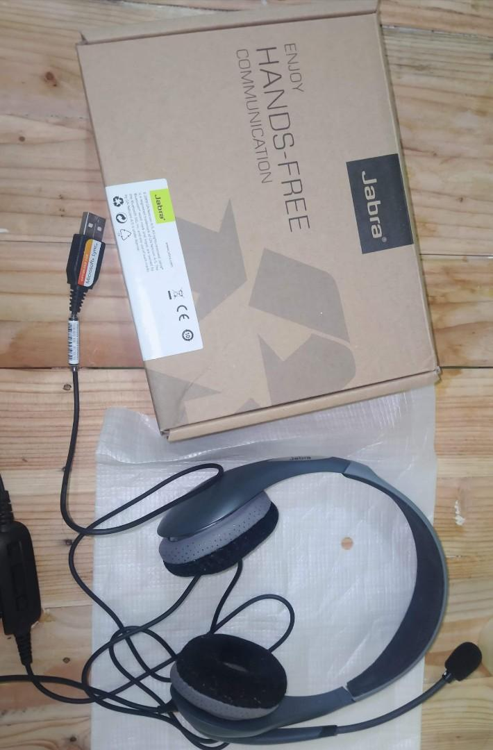 Jabra Headset With Manual Electronics Computer Parts Accessories On Carousell