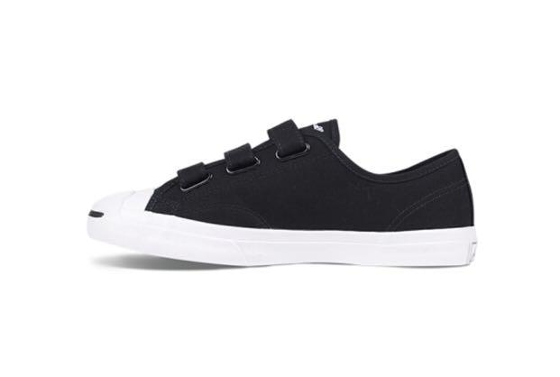 jack purcell velcro white