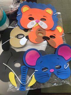 Jungle Safari Animals Face Mask