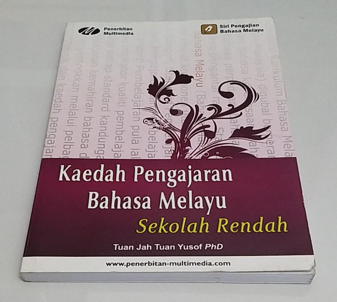 Kaedah Pengajaran Bahasa Melayu Books Stationery Books On Carousell