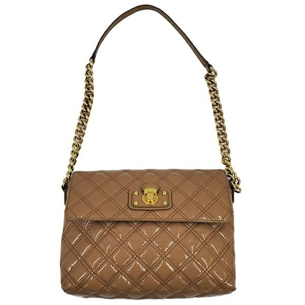 MARC JACOB | PATENT LEATHER QUILTED SINGLE BAG