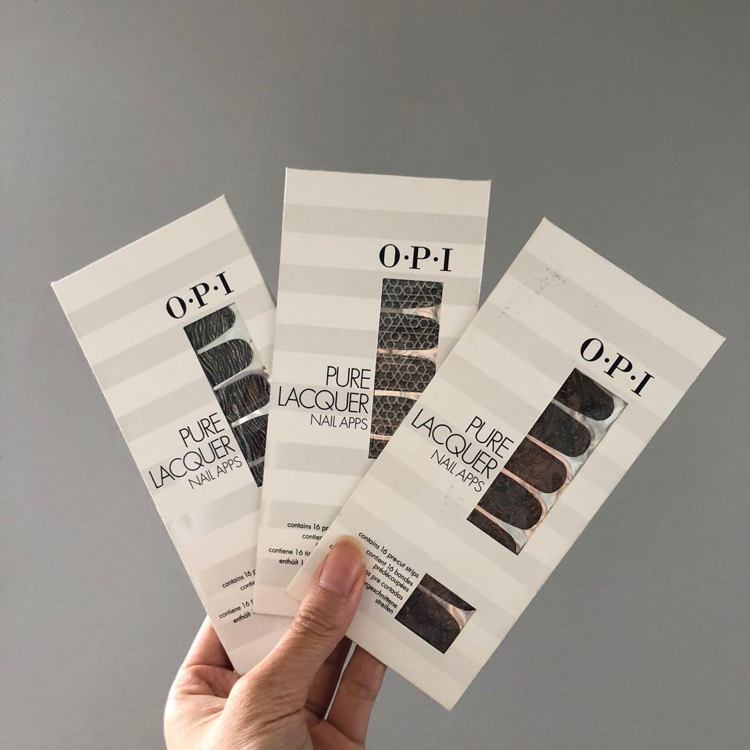 OPI Nail Strips