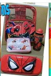 paket tas anak lengkap