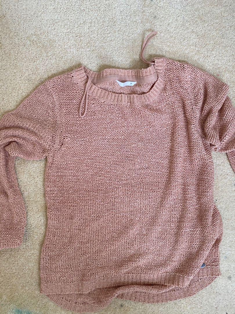 Pink knit