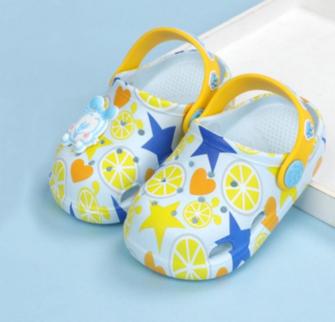 P/O Blue Bob Dog Non Slip Crocs Shoe