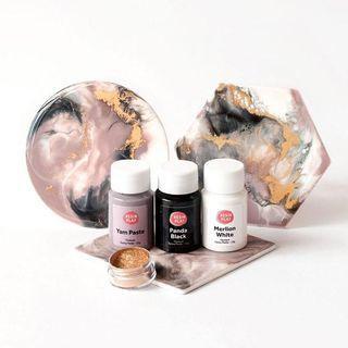 Resin Art Pigment Set - Pastel Dreams