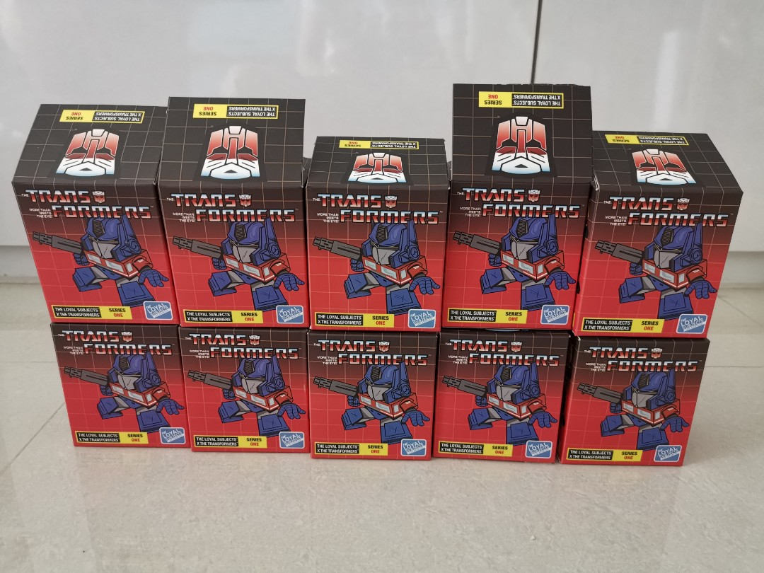 Transformers Series 2 The Loyal Subjects Vinyl Figures Dirge 1//24 Rarity