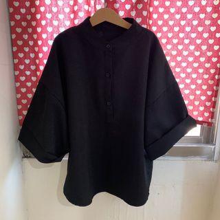 中山領五分袖襯衫