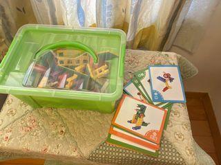 小盒積木(贈米爾頓消毒錠)