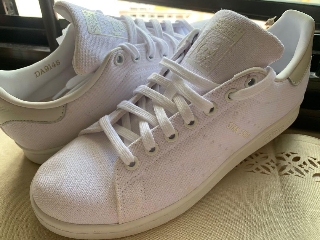 Adidas Stan Smith Pure White Cloth