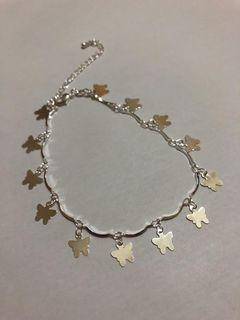 Anklet with Butterfly Charm