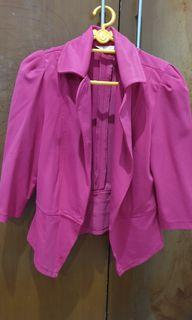 Blazer kerja Pink