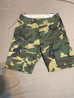 Carhartt troop short 迷彩短褲