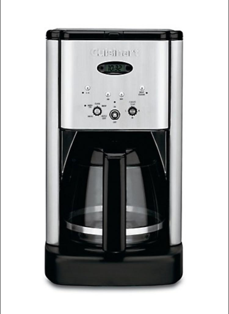 Cuisinart - 12 Cup Programmable Coffee Maker
