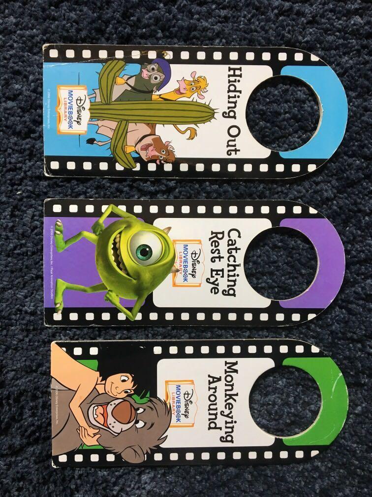 Disney door placards
