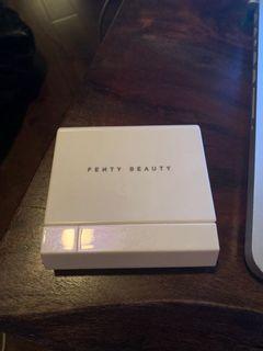 Fenty Beauty blotting powder and brush