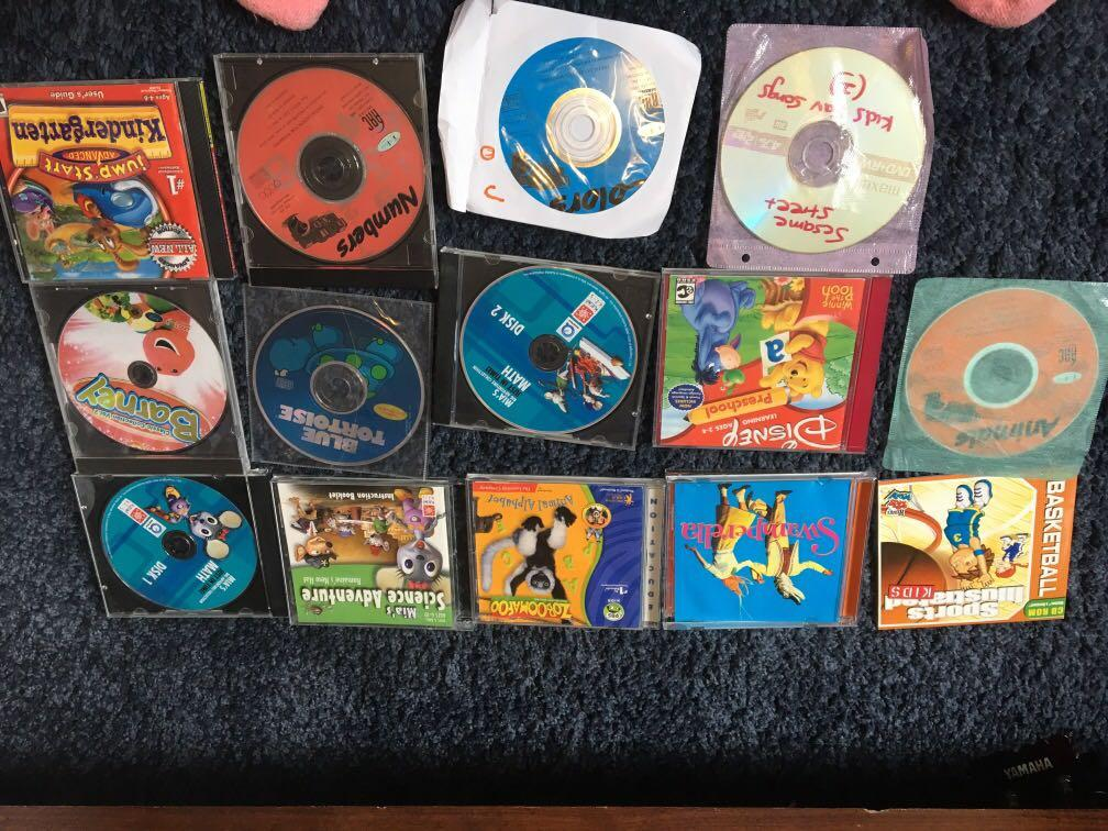 Kids educational CDs