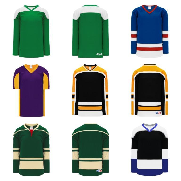 Men's Hockey Jerseys (Size M, L, XL, 4XL)